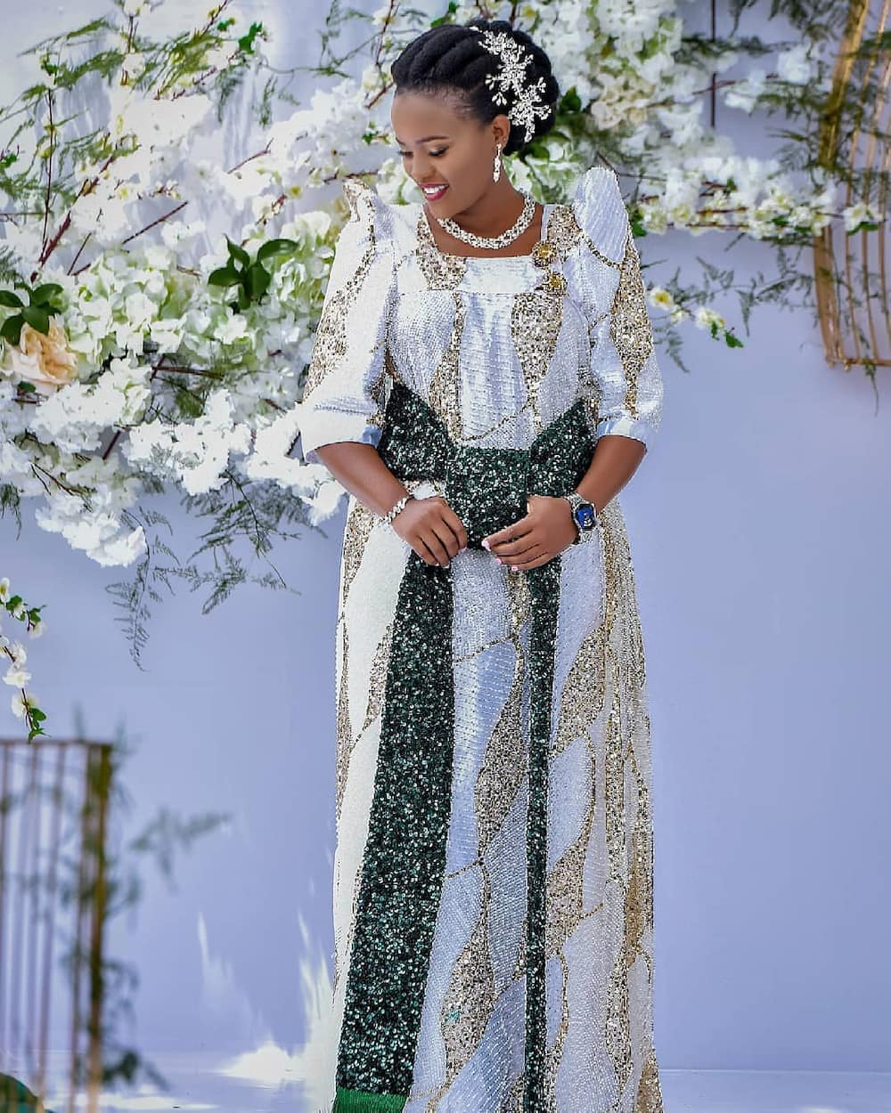 African wedding dresses Tanzania