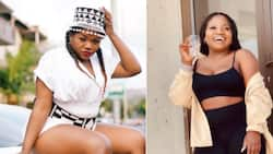 """Confident Makhadzi says she could get one up over Busiswa in a fist fight: """"I'd beat her"""""""