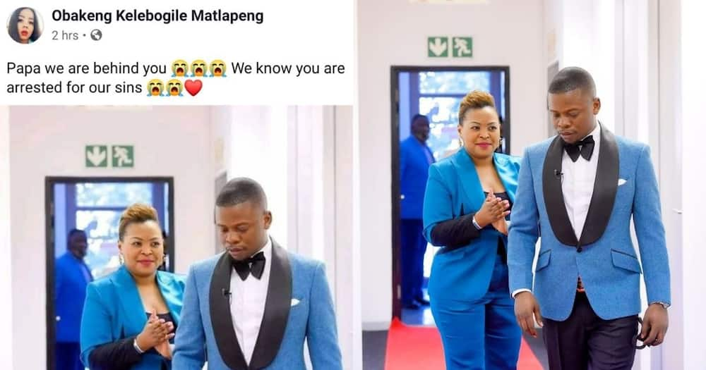 Turn off FB IA pls: Mzansi can't deal with lady saying Bushiri was arrested for