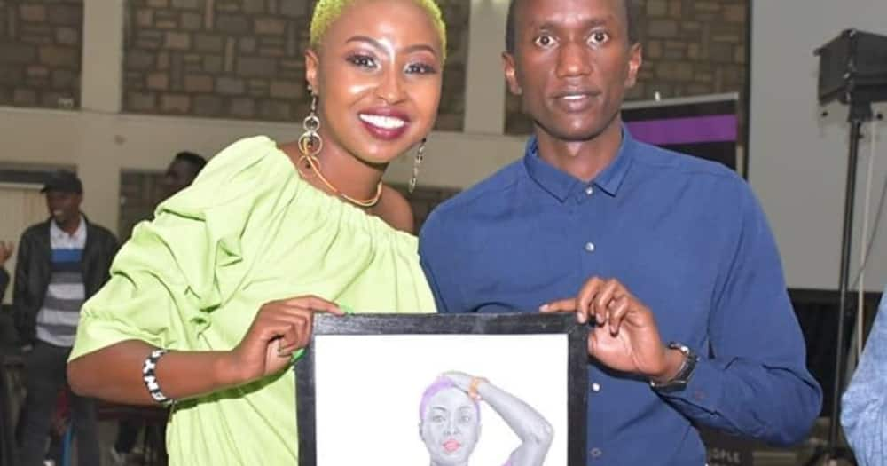 Kenyan artist impresses netizens with incredible pencil drawing of DJ Khaled