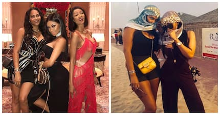 4 pictures of Bonang slaying the land of the golden sand, Dubai