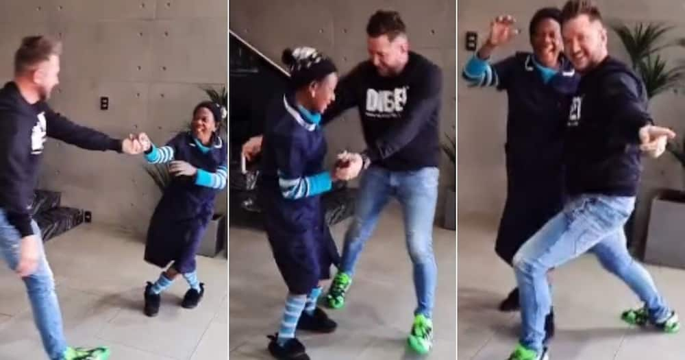 South Africans, Video, Malcolm and Thembi, Dance