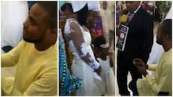 Spontaneous marriage proposal stopped by pastor during wedding