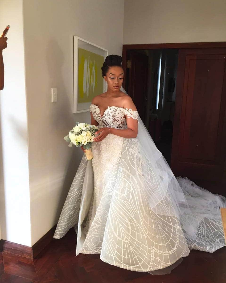 Dineo Moeketsi biography: age, husband, wedding pics, mother, before and after photos and Instagram