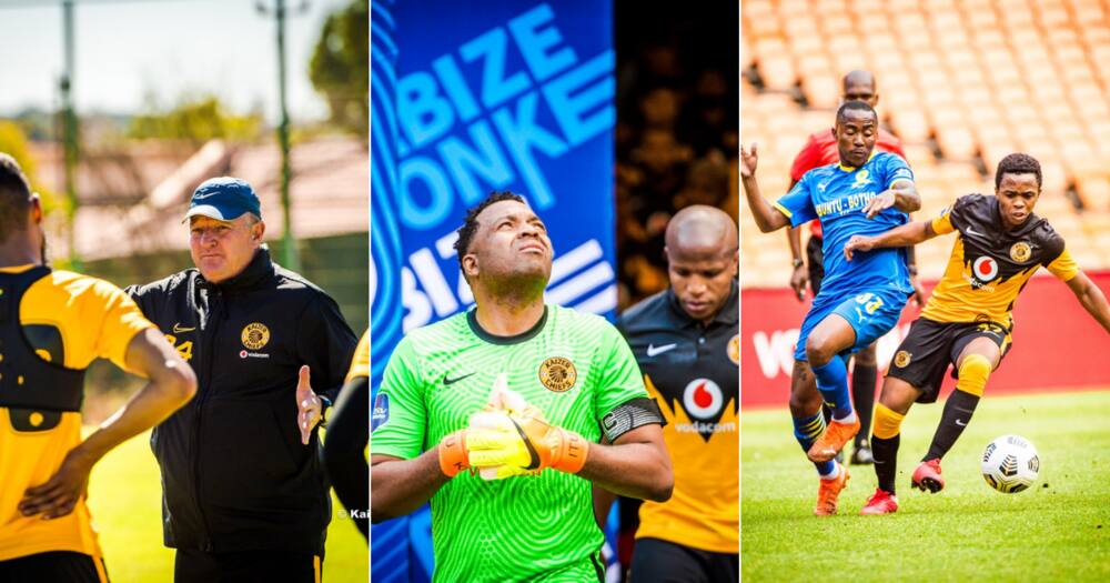 Gavin Hunt admits Chiefs defence needs work after loss to Sundowns
