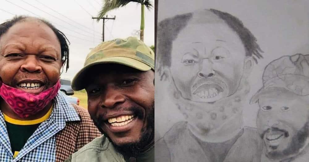 """Rasta Has Multiplied"": Mzansi Reacts Hilariously to Man's Artwork"