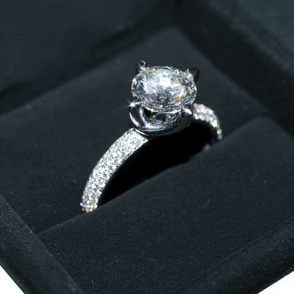 engagement bands for women