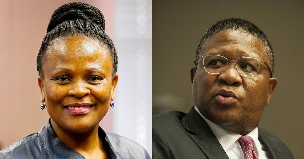 Busiswe Mkhwebane: Fikile Mbalula says PP is a 'hired gun'