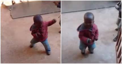 Video of toddler doing the vosho nearly broke the internet