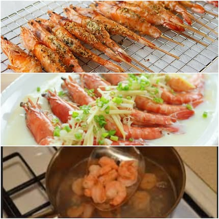 How to cook prawns in South Africa