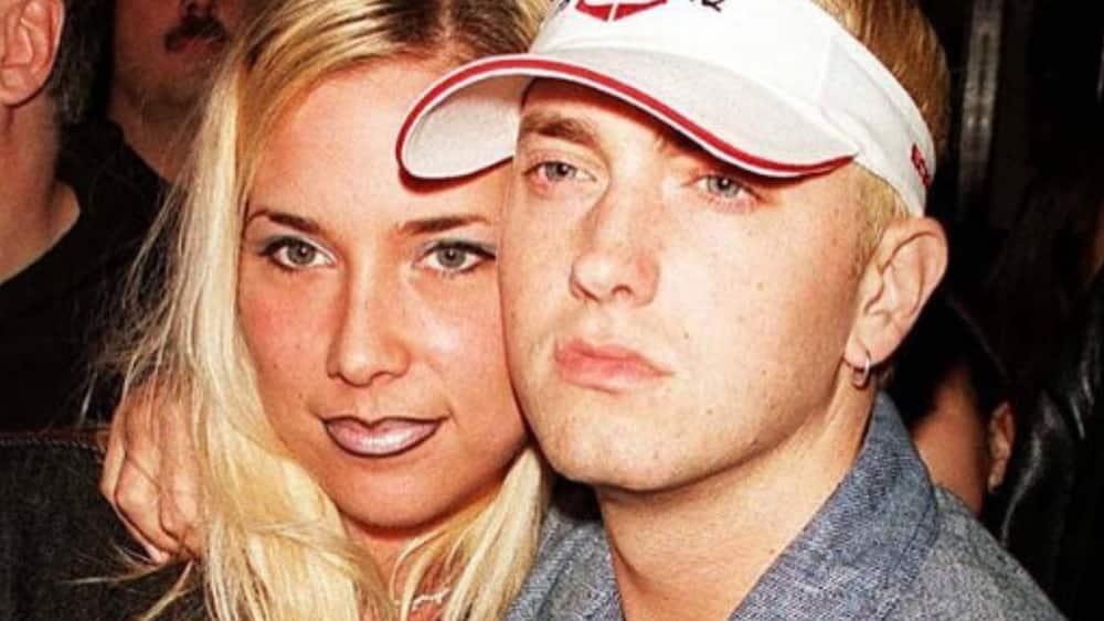 eminem's ex-wife was depressed after the first divorce