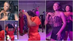 Stunning bridesmaids change to second outfit, take dancefloor over with amazing moves