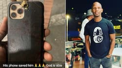 """""""Tjo"""": Max's Lifestyle owner Mqadi saved by the cell, iPhone 12 stops bullet from penetrating"""