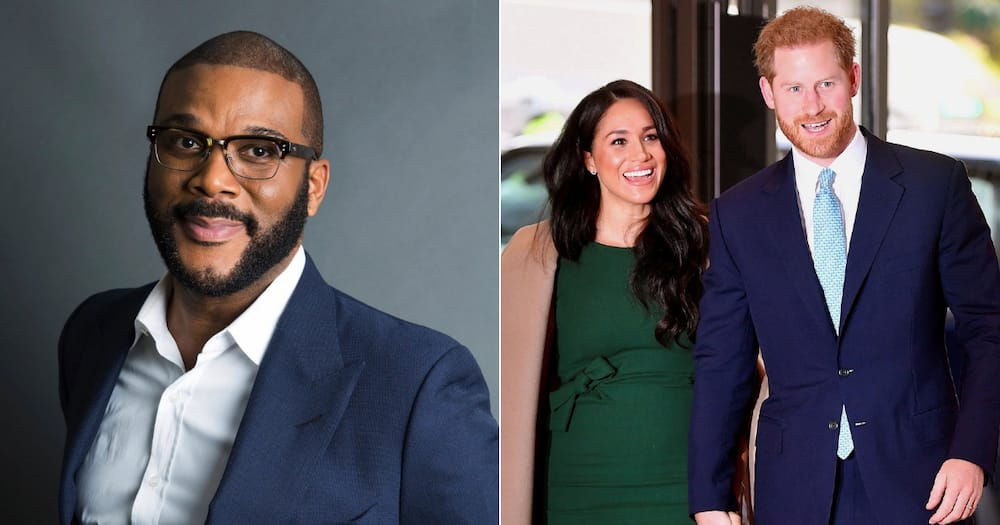 Tyler Perry offered refuge to Meghan Markle and Prince Harry