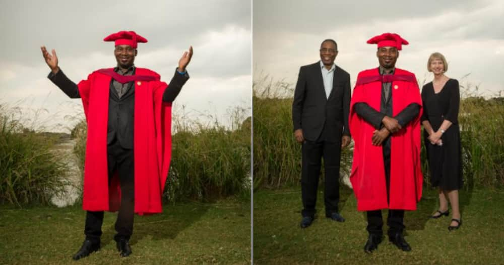 'Mr Deadline': Incredibly Hardworking Man Bags 2 Degrees in a Year