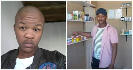 Meet Thembekile Mahintsho, the accounting student who opened a medicine store