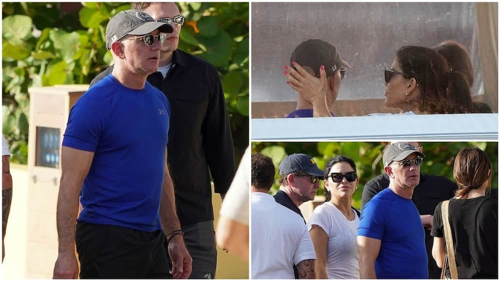 The two look lovely together on their holiday trip. Photo source: Daily Mail