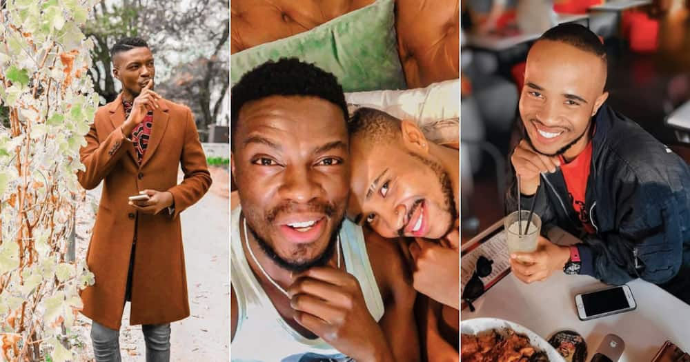 Aaron Moloisi confuses Mzansi about his sexuality with latest post