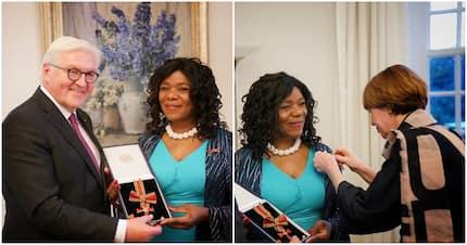 Thuli Madonsela receives Germany's prestigious Order of Merit award