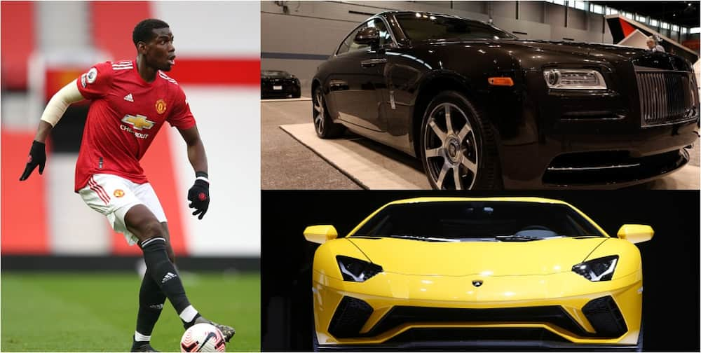 Paul Pogba's fleet of exotic cars in his garage is worth £1.73m