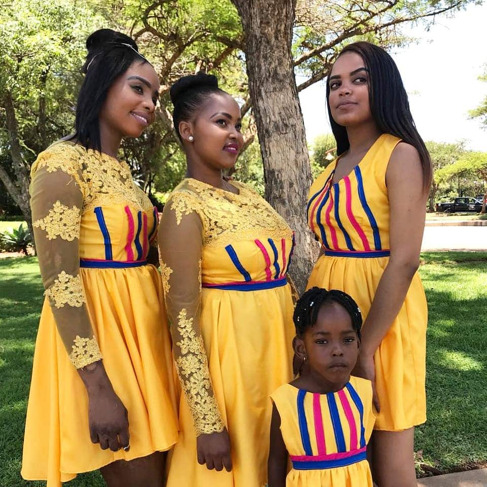 Venda Traditional Modern Dresses: Top 45 Sepedi Traditional Clothes With Images For Ladies