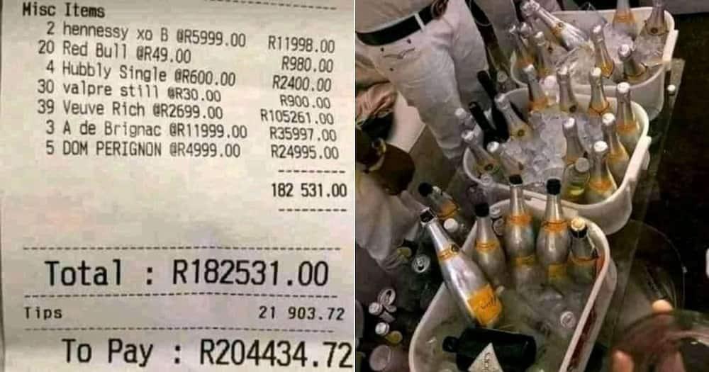 booze, bills, Mzansi