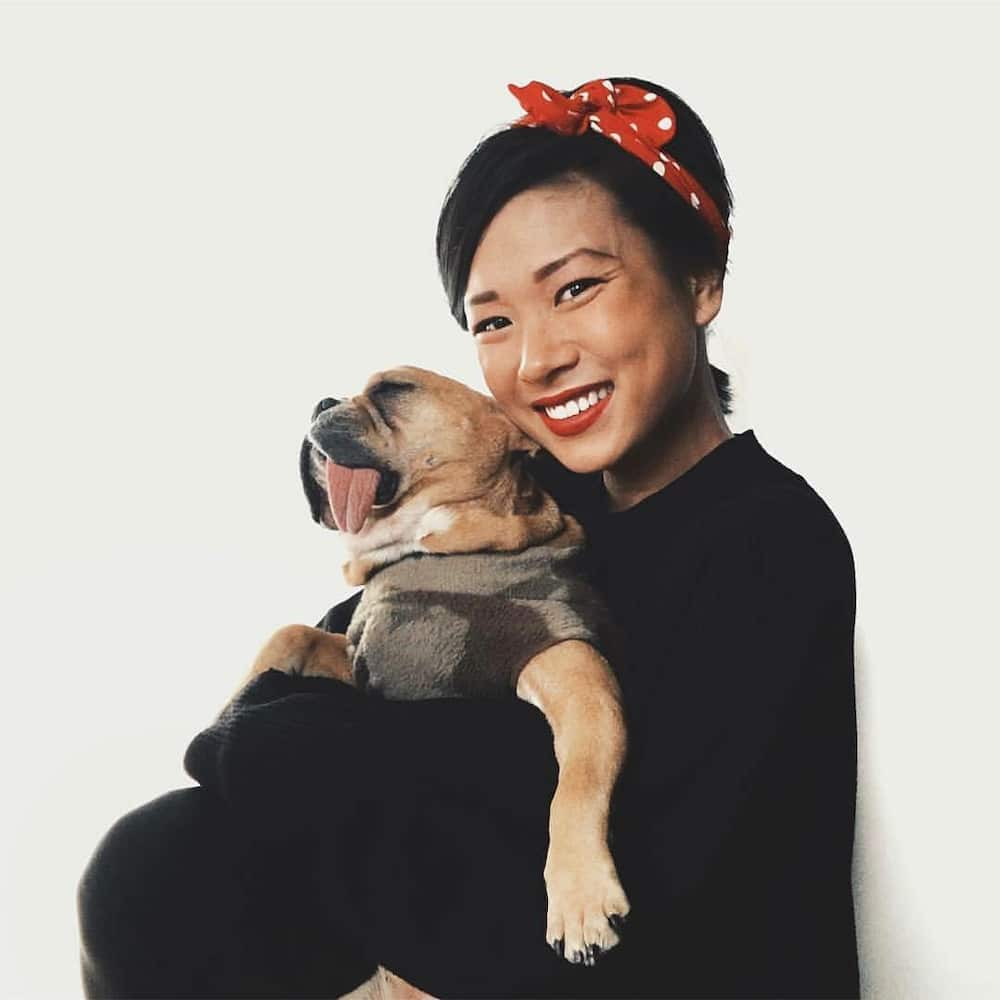 Anson Mount's wife Darah Trang
