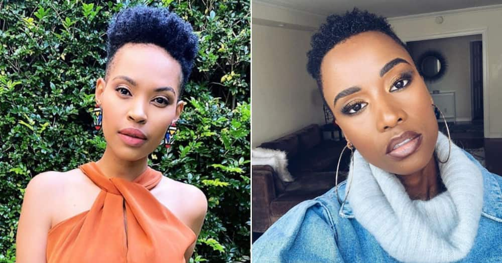 Gail Mabalane shares progress pics of her hair and empowers many