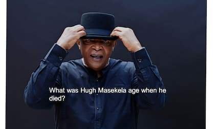What was Hugh Masekela age when he died?