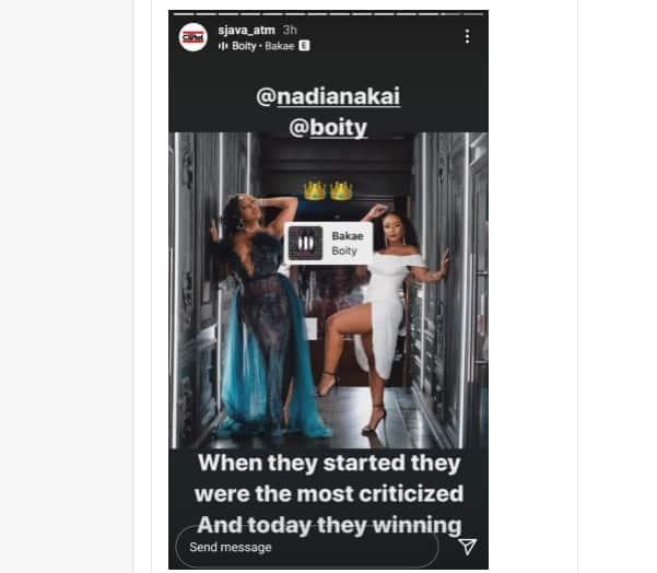 Sjava Hypes Up Boity Thulo and Nadia Nakai's SAMA Nominations: #Queens