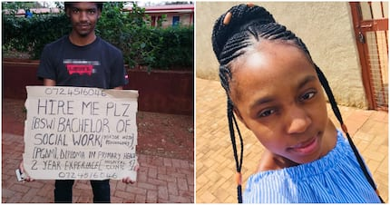 Lady appeals on Twitter for help in finding her brother a job