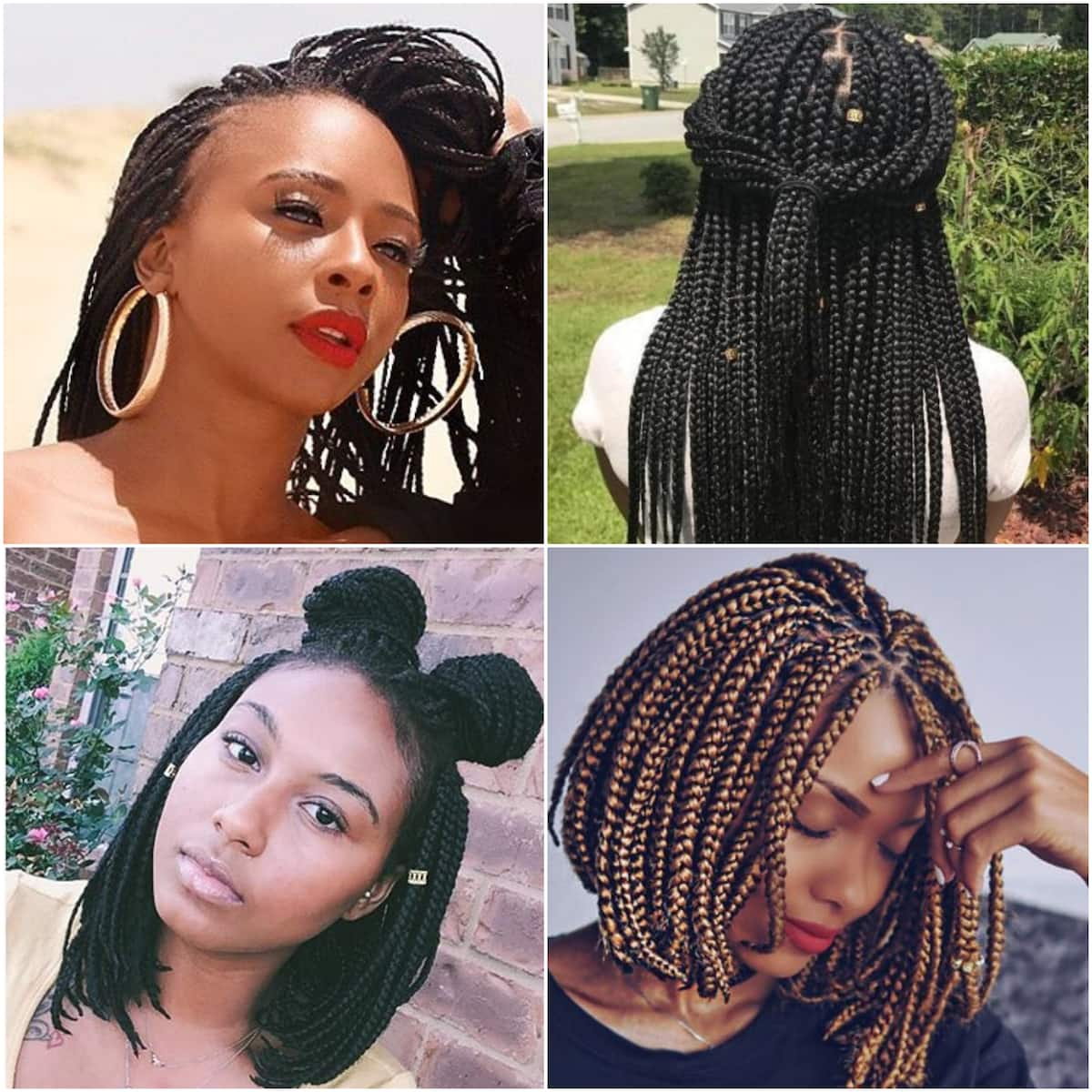 How to style braids 2020