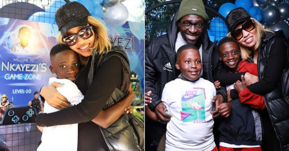 Norma Mngoma and Ex-hubby Malusi Gigaba Celebrate Son's 10th Birthday Together
