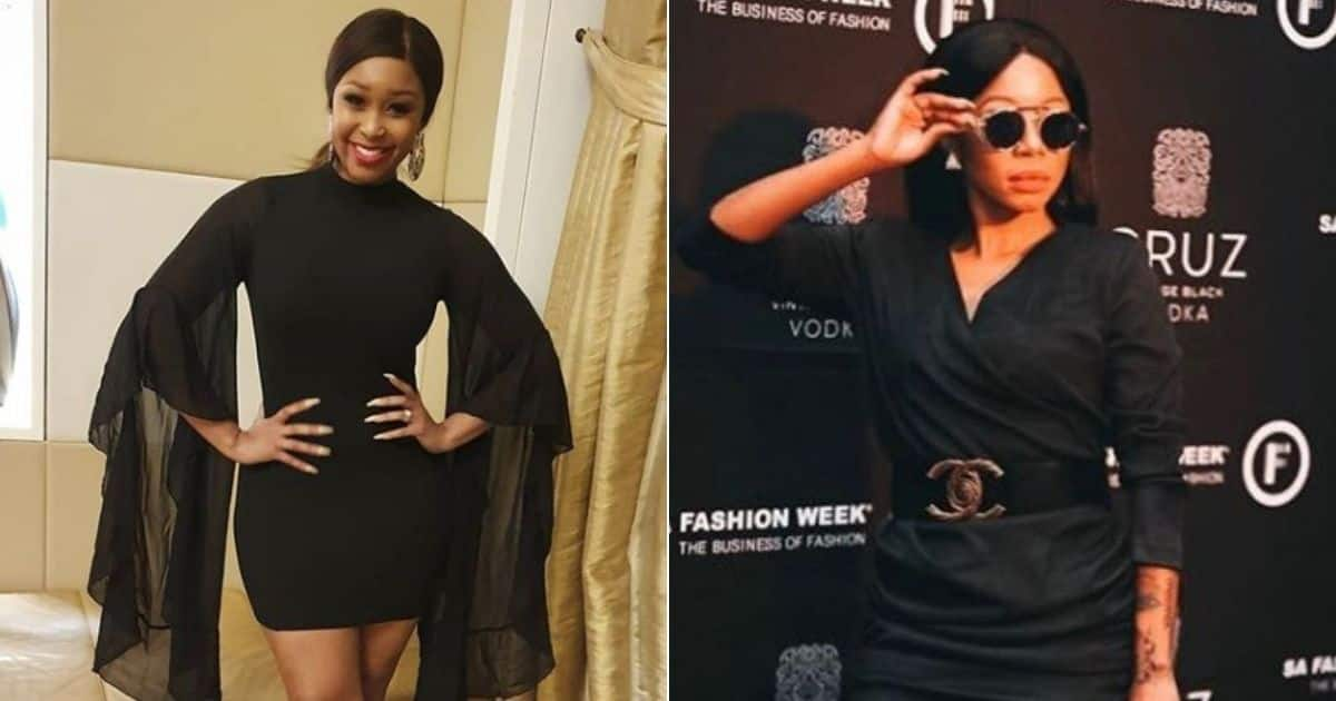Minnie Dlamini shares sound relationship advice with Kelly Khumalo
