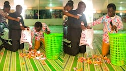 Prophet donates church offering & donations to man facing challenges; he bursts into tears