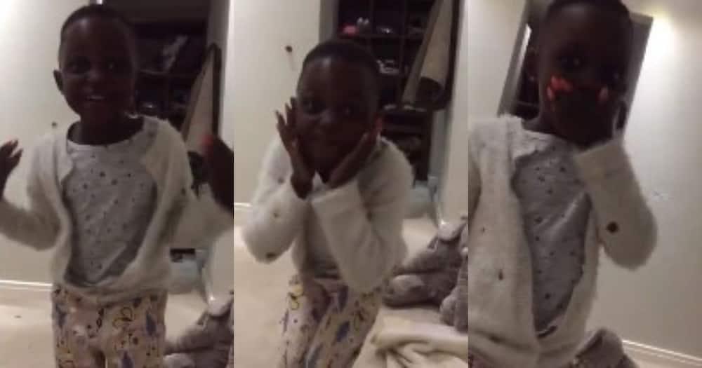 Zozibini Tunzi reacts to adorable little girl who idolises her