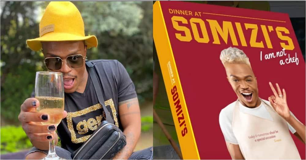 Somizi's cookbook hits number 1