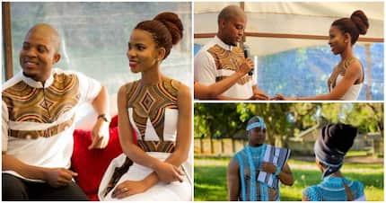 Beautiful pics of traditional wedding warm hearts of SA tweeps