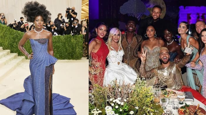Lupita Nyong'o spotted hanging out with Lil Nas X, Steph Curry at Met Gala