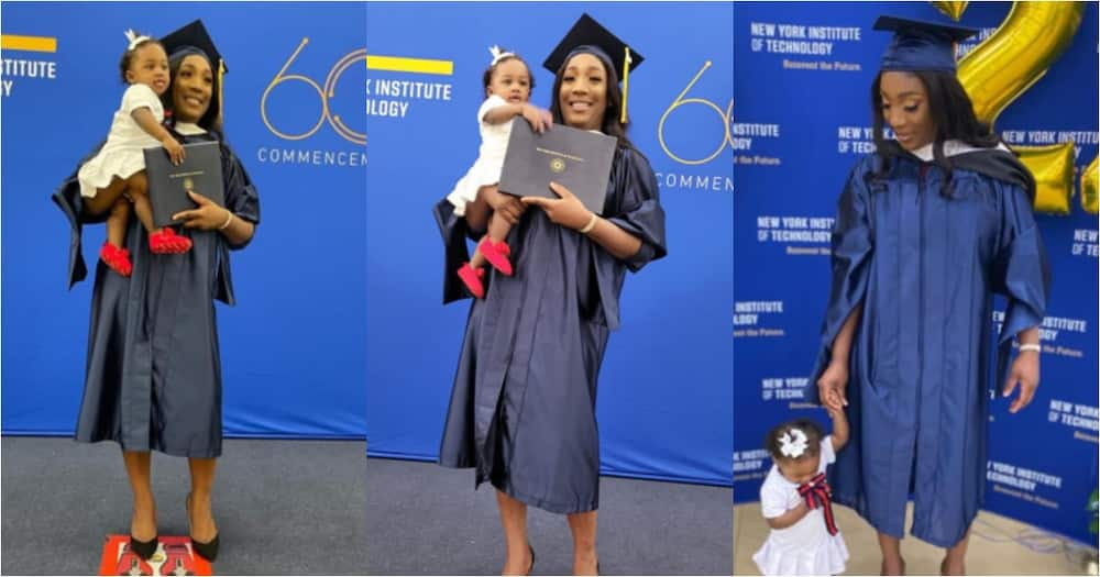 First-trimester sickness made me pause for a bit - Mom inspires as she bags master's degree