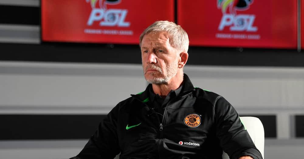 Stuart Baxter, Kaizer Chiefs, Mamelodi Sundowns, positives