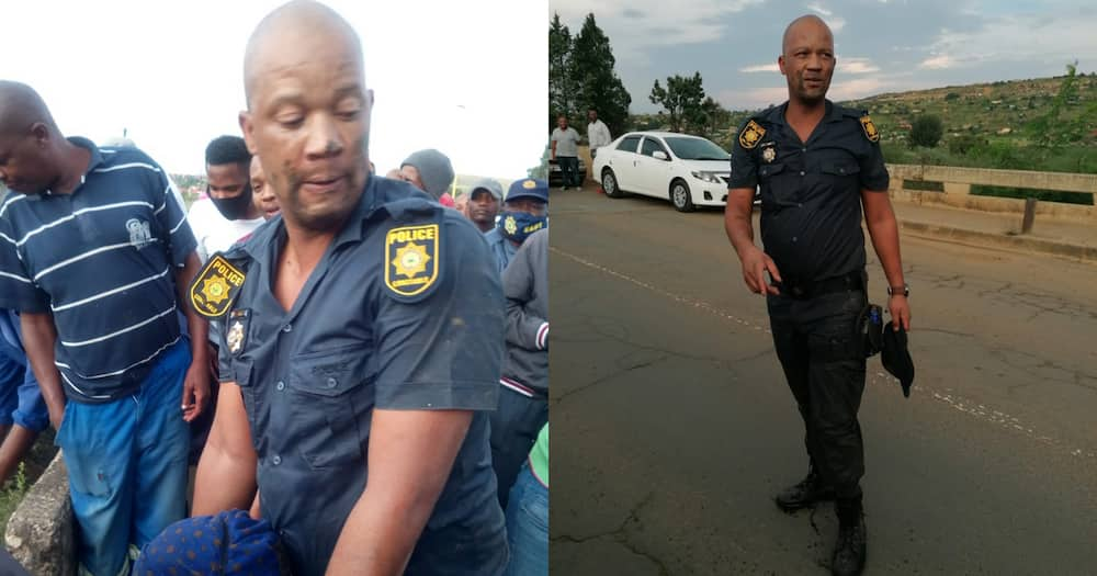 SAPS Share Intricate Details of How Brave Cop Saved Gogo from River