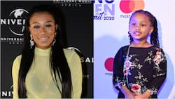 DJ Zinhle and daughter Kairo Forbes post cute make up selfies
