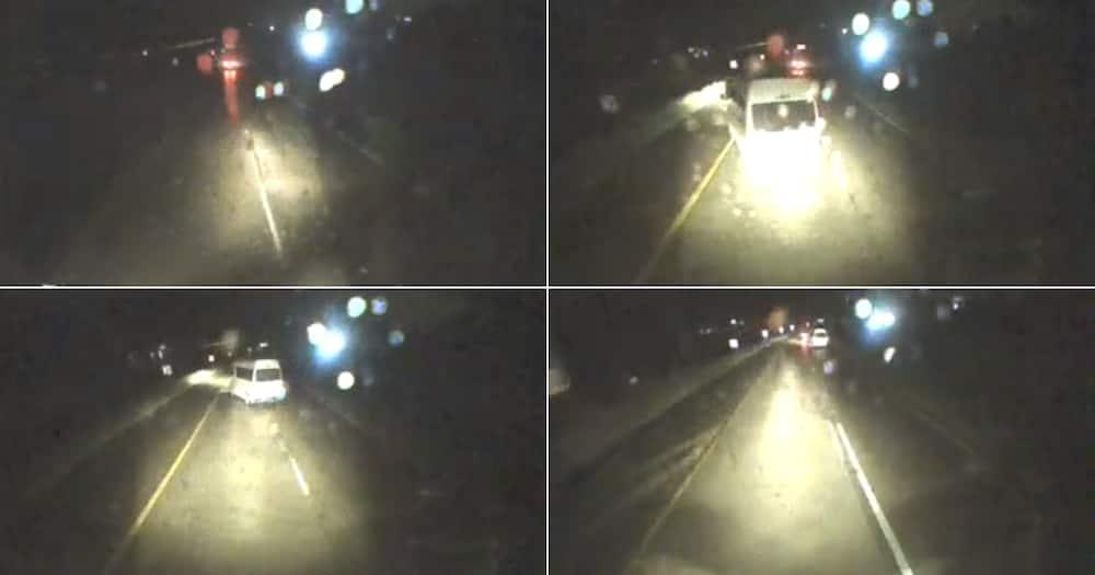 Hijacking, Trucker, Bulldoze, Video, Social media, Reactions