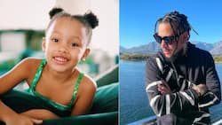 """""""Father and daughter things"""": AKA and Kairo rock matching hairstyles"""