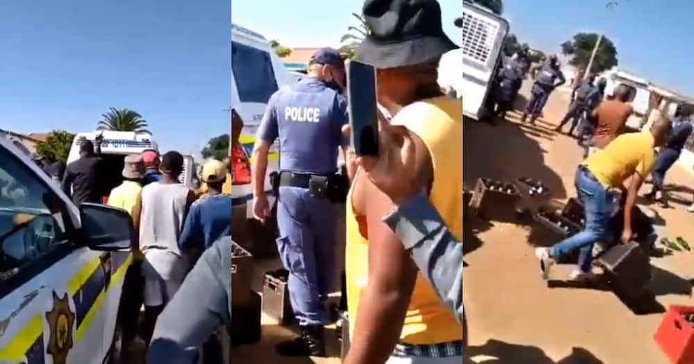 Cops and Locals Clash over Confiscated Booze, Sa Has Mixed Reactions