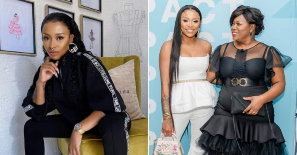 DJ Zinhle Wishes Her Sister Happy Birthday in Heartwarming Post
