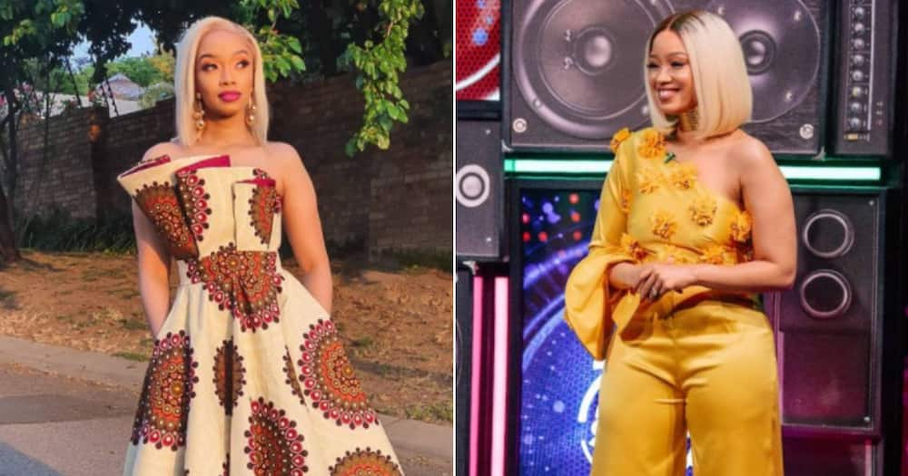 Dineo Langa's proudly mother boasts about her boujee fashion brand