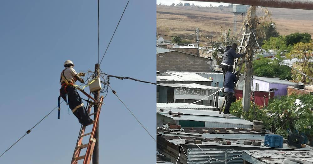 Sowetan Residents Demand Flat Rate of R150 from Eksom, Take to the Streets in Protest to Power Cuts