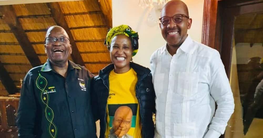 Duduzile Zuma-Sambudla, Day, Zuma, Father, Hug